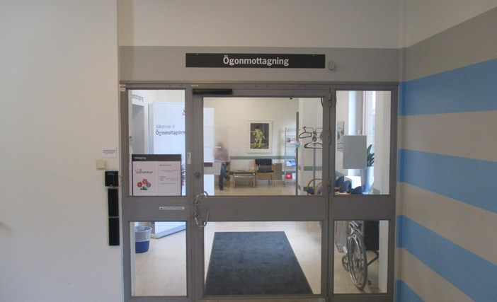 The eye clinic, the Hospital in Landskrona