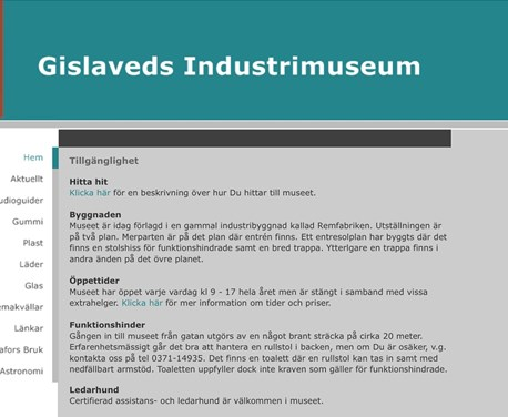 Gislaveds Industrimuseum